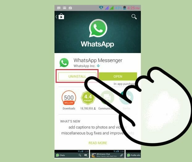 appli pirater whatsapp